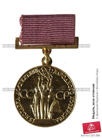 Медаль,знак отличия, эксклюзивное фото № 251586, снято 14 июня 2006 г. (c) Дмитрий Нейман / Фотобанк Лори