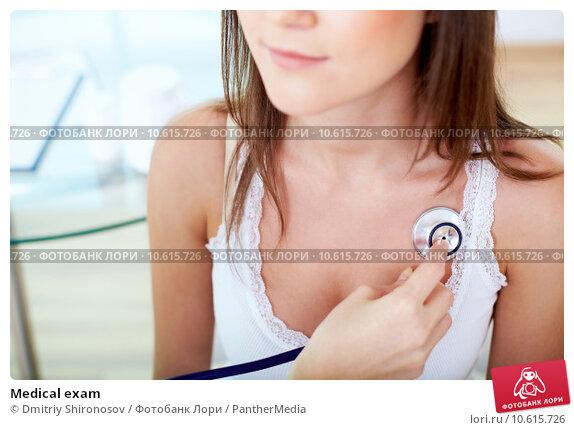 Medical exam. Стоковое фото, фотограф Dmitriy Shironosov / PantherMedia / Фотобанк Лори