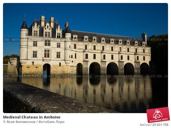 Купить «Medieval Chateau in Amboise», фото № 29431758, снято 8 октября 2018 г. (c) Яков Филимонов / Фотобанк Лори