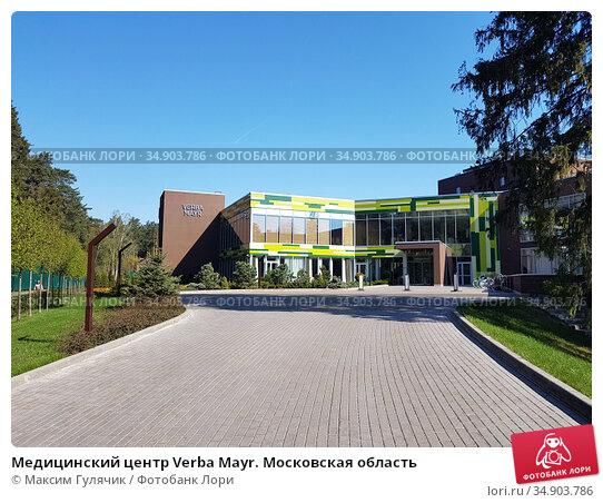 Медицинский центр Verba Mayr. Московская область (2019 год). Редакционное фото, фотограф Максим Гулячик / Фотобанк Лори