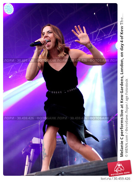 Melanie C performs live at Kew Gardens, London, on day 4 of Kew The... (2017 год). Редакционное фото, фотограф WENN.com / age Fotostock / Фотобанк Лори
