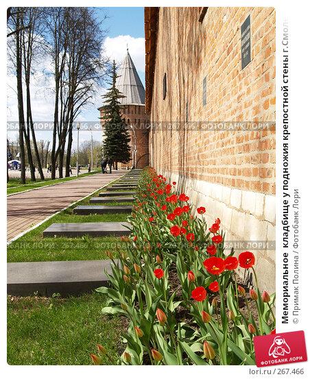 Мемориальное  кладбище у подножия крепостной стены г.Смоленск, фото № 267466, снято 26 апреля 2008 г. (c) Примак Полина / Фотобанк Лори