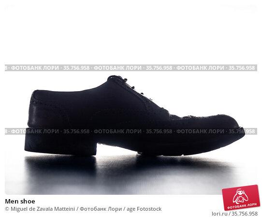 Men shoe. Стоковое фото, фотограф Miguel de Zavala Matteini / age Fotostock / Фотобанк Лори