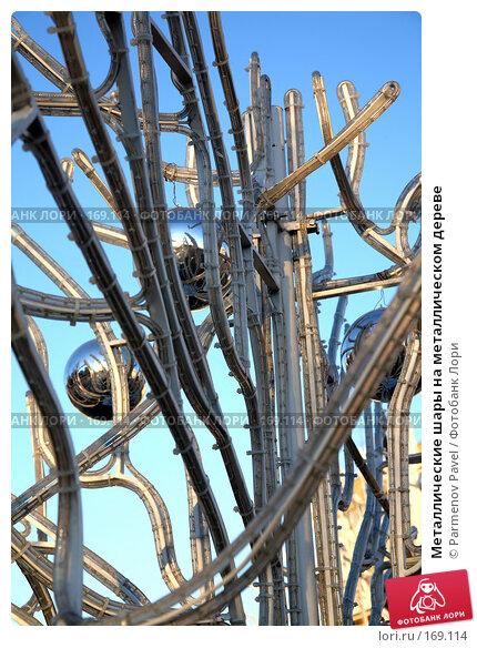 Металлические шары на металлическом дереве, фото № 169114, снято 3 января 2008 г. (c) Parmenov Pavel / Фотобанк Лори