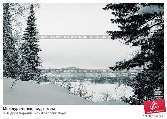 Междуреченск, вид с горы, фото № 247938, снято 19 февраля 2017 г. (c) Андрей Доронченко / Фотобанк Лори
