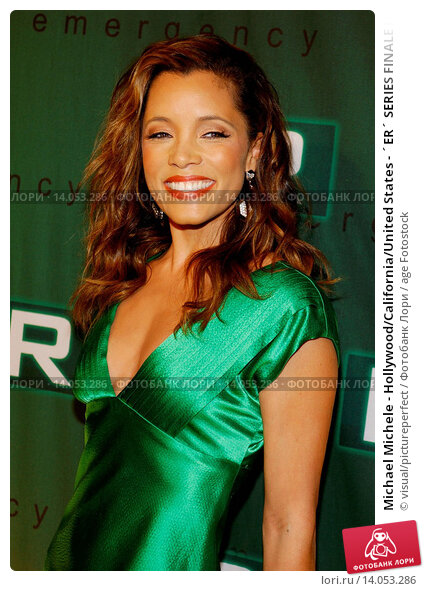 Изображение «Michael Michele - Hollywood/California/United States - ´ER´  SERIES FINALE PARTY»
