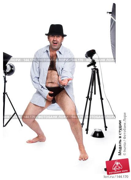 Купить «Модель в студии», фото № 144170, снято 24 августа 2007 г. (c) hunta / Фотобанк Лори