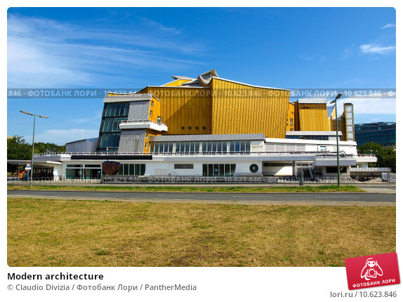 Modern architecture. Стоковое фото, фотограф Claudio Divizia / PantherMedia / Фотобанк Лори