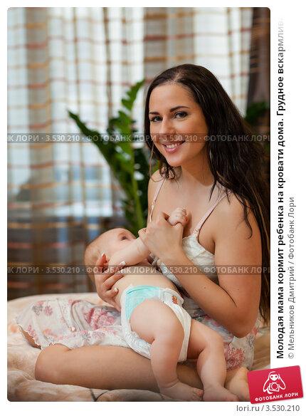 Молодая мама фото ню