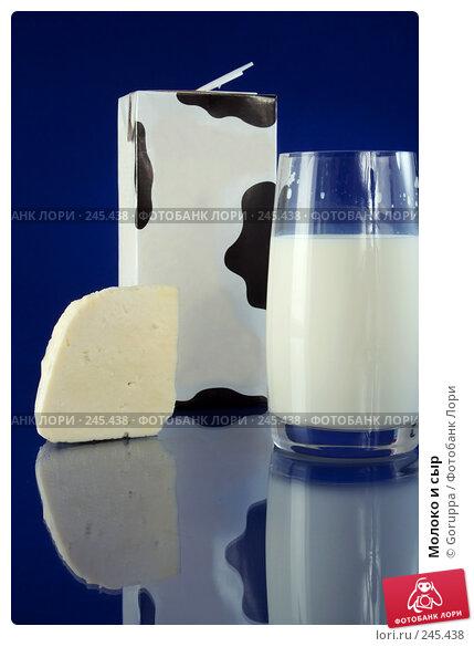Молоко и сыр, фото № 245438, снято 5 апреля 2008 г. (c) Goruppa / Фотобанк Лори