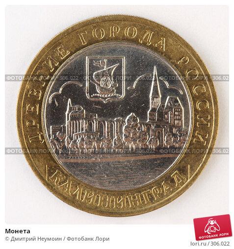 Монета, фото № 306022, снято 22 мая 2008 г. (c) Дмитрий Неумоин / Фотобанк Лори