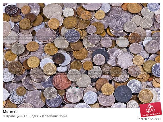 Купить «Монеты», фото № 226930, снято 8 ноября 2004 г. (c) Кравецкий Геннадий / Фотобанк Лори