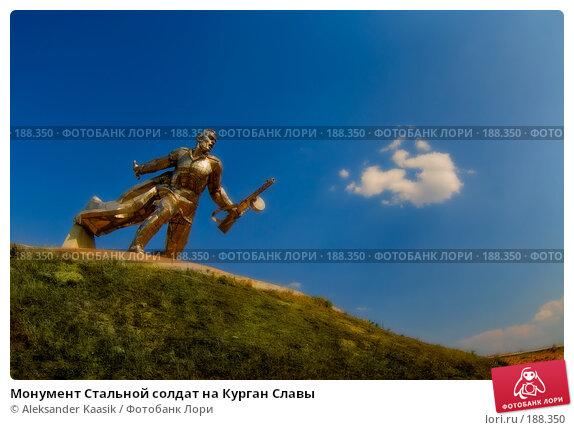 Монумент Стальной солдат на Курган Славы, фото № 188350, снято 23 марта 2017 г. (c) Aleksander Kaasik / Фотобанк Лори