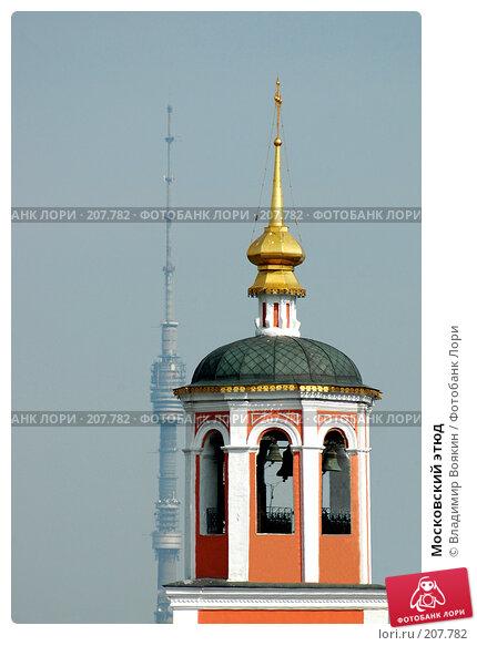 Московский этюд, фото № 207782, снято 5 мая 2005 г. (c) Владимир Воякин / Фотобанк Лори
