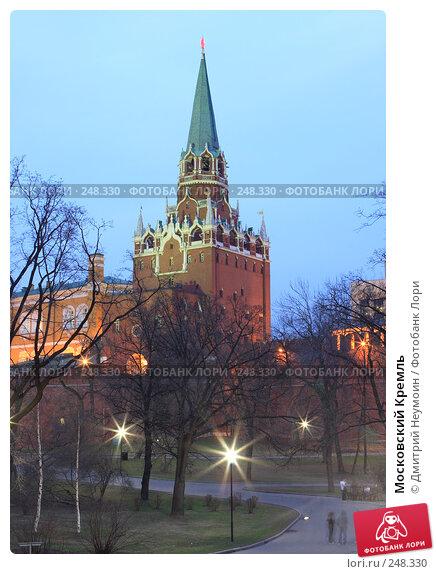 Купить «Московский Кремль», эксклюзивное фото № 248330, снято 6 апреля 2008 г. (c) Дмитрий Неумоин / Фотобанк Лори