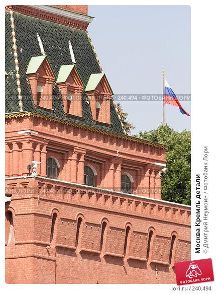Купить «Москва Кремль детали», эксклюзивное фото № 240494, снято 5 июля 2007 г. (c) Дмитрий Неумоин / Фотобанк Лори