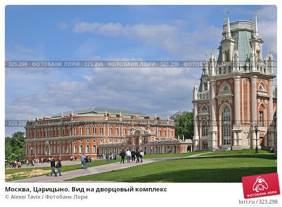 Москва, Царицыно. Вид на дворцовый комплекс, эксклюзивное фото № 323298, снято 31 мая 2008 г. (c) Alexei Tavix / Фотобанк Лори