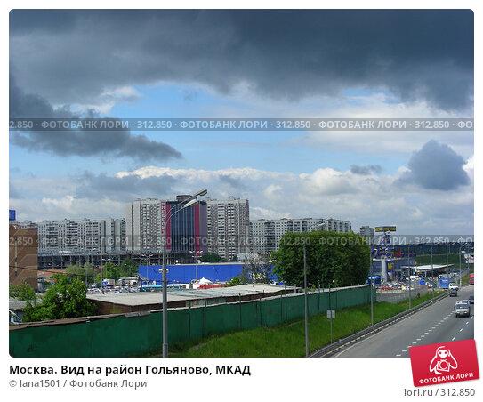 Москва. Вид на район Гольяново, МКАД, эксклюзивное фото № 312850, снято 4 июня 2008 г. (c) lana1501 / Фотобанк Лори