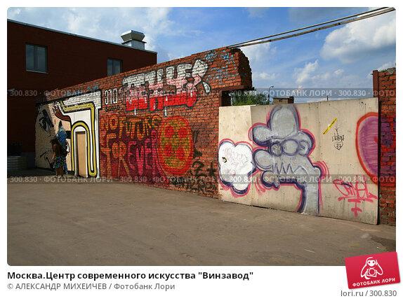 """Москва.Центр современного искусства """"Винзавод"""", фото № 300830, снято 18 мая 2008 г. (c) АЛЕКСАНДР МИХЕИЧЕВ / Фотобанк Лори"""