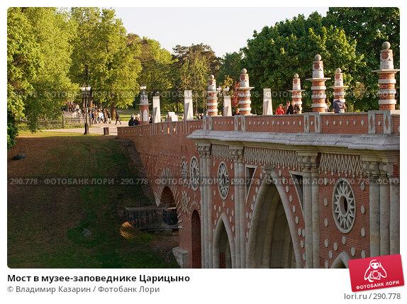 Мост в музее-заповеднике Царицыно, фото № 290778, снято 17 мая 2008 г. (c) Владимир Казарин / Фотобанк Лори