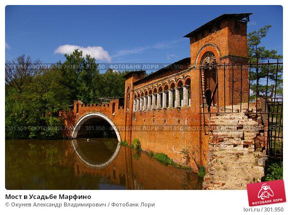 Купить «Мост в Усадьбе Марфино», фото № 301950, снято 26 мая 2008 г. (c) Окунев Александр Владимирович / Фотобанк Лори