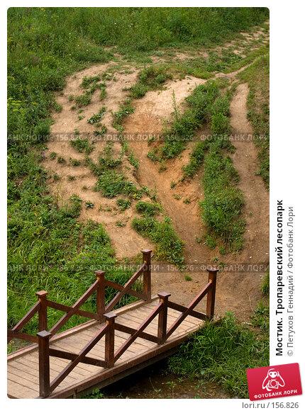 Мостик. Тропаревский лесопарк, фото № 156826, снято 8 июля 2007 г. (c) Петухов Геннадий / Фотобанк Лори