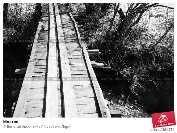 Мосток, фото № 264754, снято 26 апреля 2008 г. (c) Василий Аксюченко / Фотобанк Лори