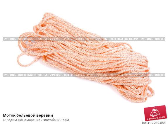 Купить «Моток бельевой веревки», фото № 219886, снято 29 февраля 2008 г. (c) Вадим Пономаренко / Фотобанк Лори