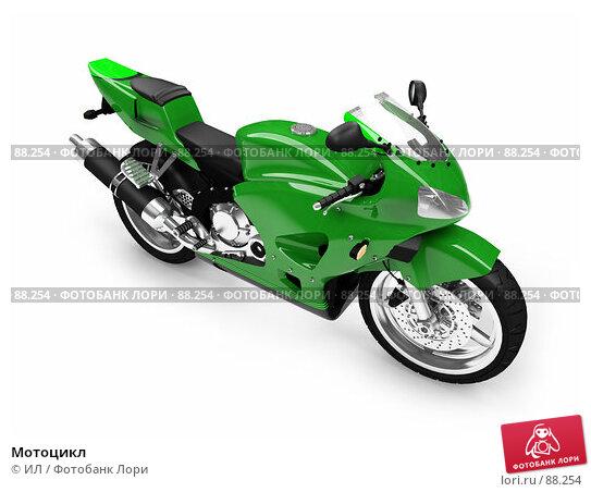 Мотоцикл, иллюстрация № 88254 (c) ИЛ / Фотобанк Лори