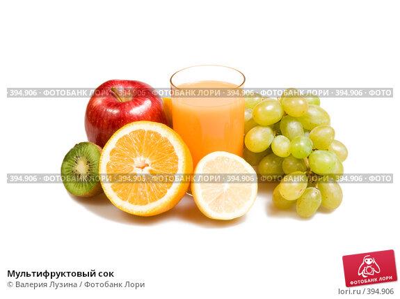 Купить «Мультифруктовый сок», фото № 394906, снято 18 июня 2008 г. (c) Валерия Потапова / Фотобанк Лори