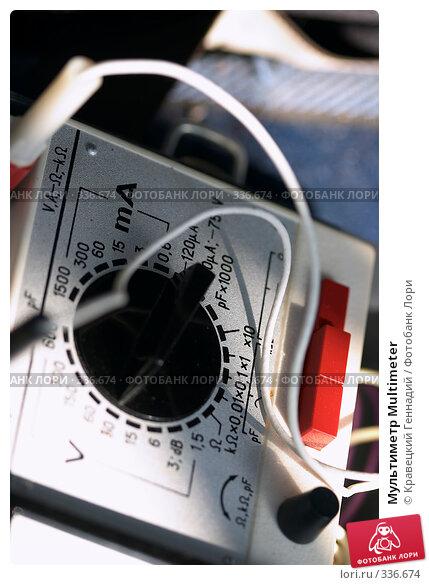 Мультиметр Multimeter, фото № 336674, снято 8 августа 2004 г. (c) Кравецкий Геннадий / Фотобанк Лори