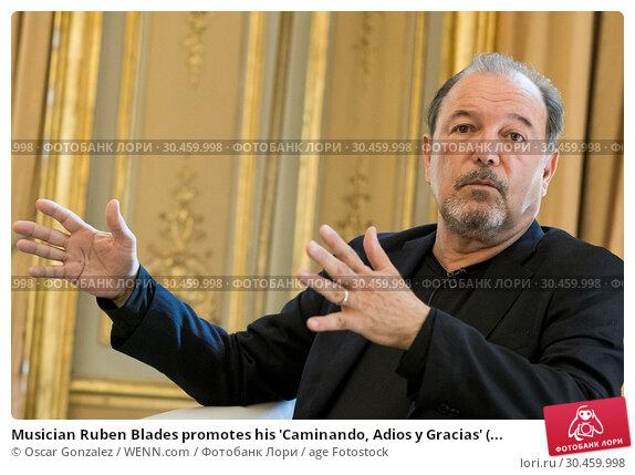 Musician Ruben Blades promotes his 'Caminando, Adios y Gracias' (... (2017 год). Редакционное фото, фотограф Oscar Gonzalez / WENN.com / age Fotostock / Фотобанк Лори