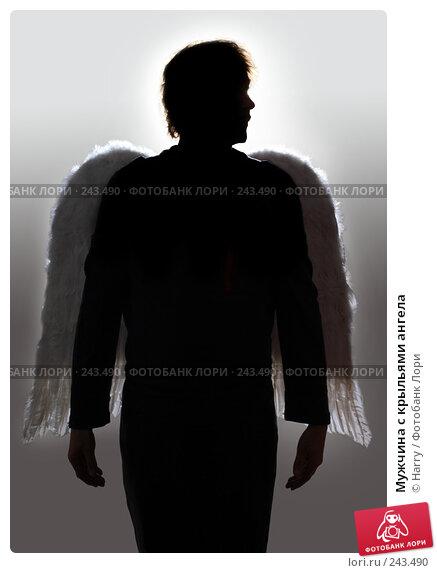 Мужчина с крыльями ангела, фото № 243490, снято 23 июля 2007 г. (c) Harry / Фотобанк Лори