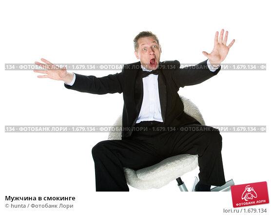 Мужчина в смокинге, фото № 1679134, снято 12 декабря 2009 г. (c) hunta / Фотобанк Лори