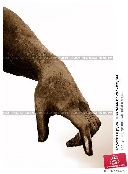 Купить «Мужская рука. Фрагмент скульптуры», фото № 36894, снято 29 марта 2007 г. (c) Крупнов Денис / Фотобанк Лори
