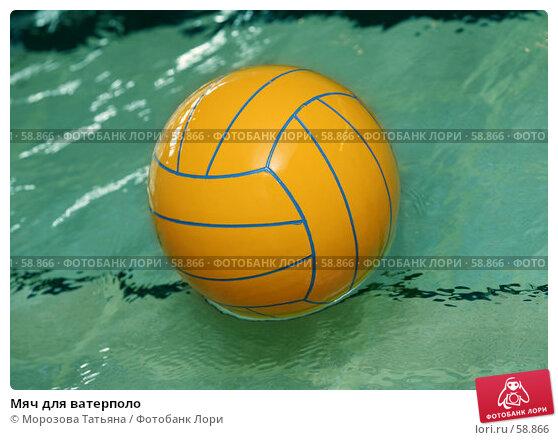 Мяч для ватерполо, фото № 58866, снято 5 мая 2007 г. (c) Морозова Татьяна / Фотобанк Лори