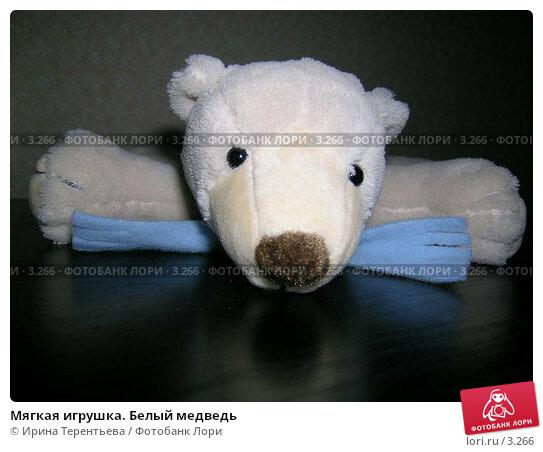 Мягкая игрушка. Белый медведь, эксклюзивное фото № 3266, снято 4 июля 2004 г. (c) Ирина Терентьева / Фотобанк Лори