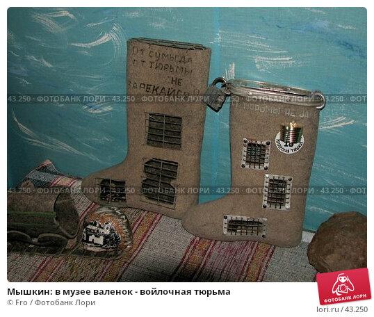 Мышкин: в музее валенок - войлочная тюрьма, фото № 43250, снято 29 апреля 2006 г. (c) Fro / Фотобанк Лори