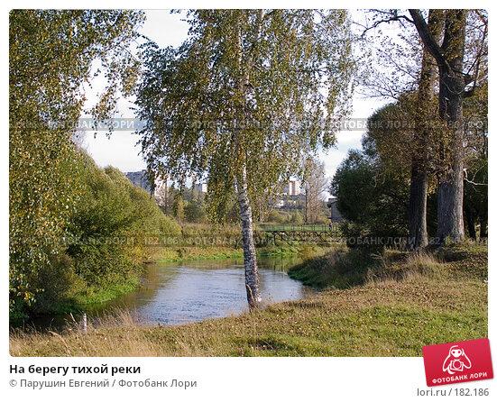 На берегу тихой реки, фото № 182186, снято 22 октября 2016 г. (c) Парушин Евгений / Фотобанк Лори