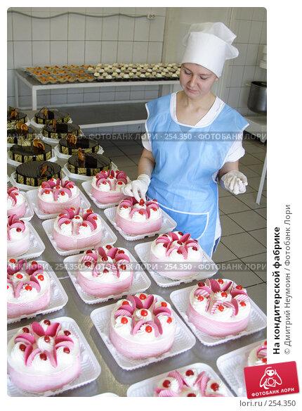 На кондитерской фабрике, эксклюзивное фото № 254350, снято 3 мая 2006 г. (c) Дмитрий Неумоин / Фотобанк Лори