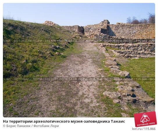 На территории археологического музея-заповедника Танаис, фото № 115866, снято 22 февраля 2007 г. (c) Борис Панасюк / Фотобанк Лори