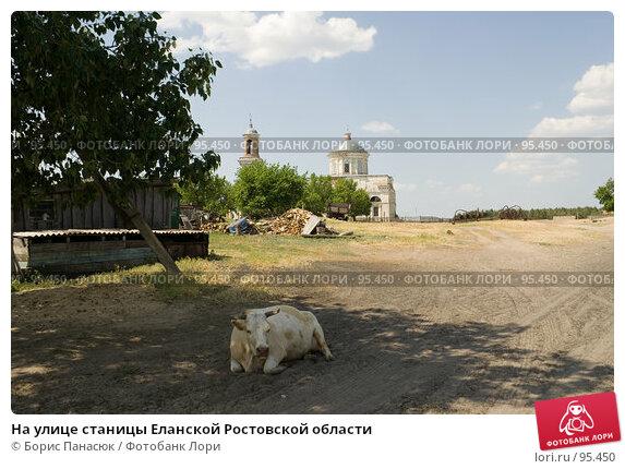 На улице станицы Еланской Ростовской области, фото № 95450, снято 25 мая 2007 г. (c) Борис Панасюк / Фотобанк Лори