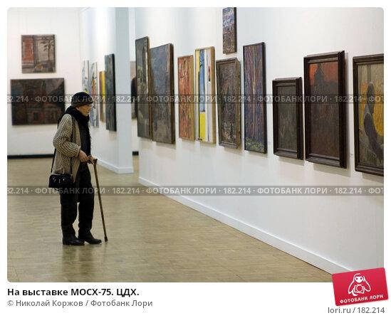 На выставке МОСХ-75. ЦДХ., фото № 182214, снято 20 января 2008 г. (c) Николай Коржов / Фотобанк Лори