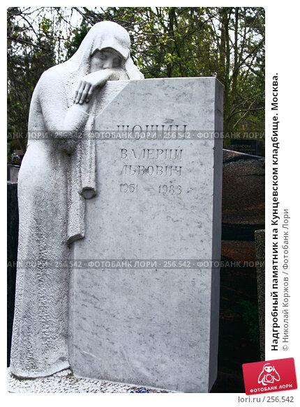 Надгробный памятник на Кунцевском кладбище. Москва., фото № 256542, снято 18 марта 2008 г. (c) Николай Коржов / Фотобанк Лори
