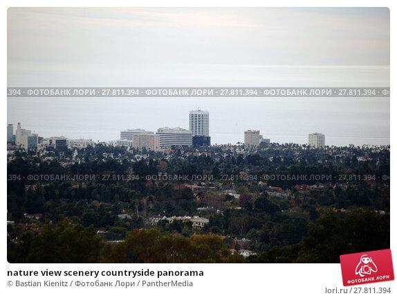 Купить «nature view scenery countryside panorama», фото № 27811394, снято 24 октября 2018 г. (c) PantherMedia / Фотобанк Лори