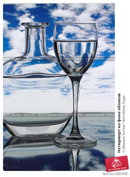 Купить «Натюрморт на фоне облаков», фото № 202410, снято 15 февраля 2008 г. (c) Михаил Котов / Фотобанк Лори