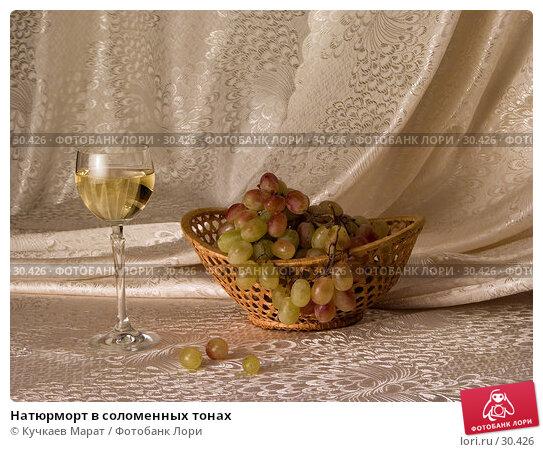 Натюрморт в соломенных тонах, фото № 30426, снято 26 сентября 2006 г. (c) Кучкаев Марат / Фотобанк Лори