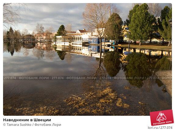 Купить «Наводнение в Швеции», фото № 277074, снято 6 мая 2008 г. (c) Tamara Sushko / Фотобанк Лори