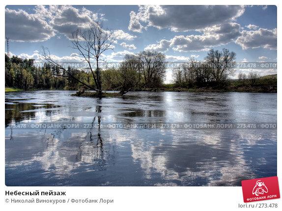 Купить «Небесный пейзаж», фото № 273478, снято 26 апреля 2018 г. (c) Николай Винокуров / Фотобанк Лори