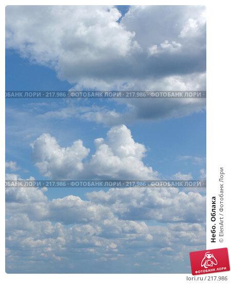 Небо. Облака, фото № 217986, снято 26 мая 2017 г. (c) ElenArt / Фотобанк Лори